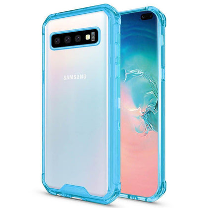 Acrylic Transparent Case for Samsung Galaxy S10 - Blue