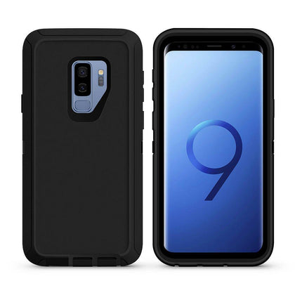 DualPro Protector Case For Samsung Galaxy S9 Plus - Black