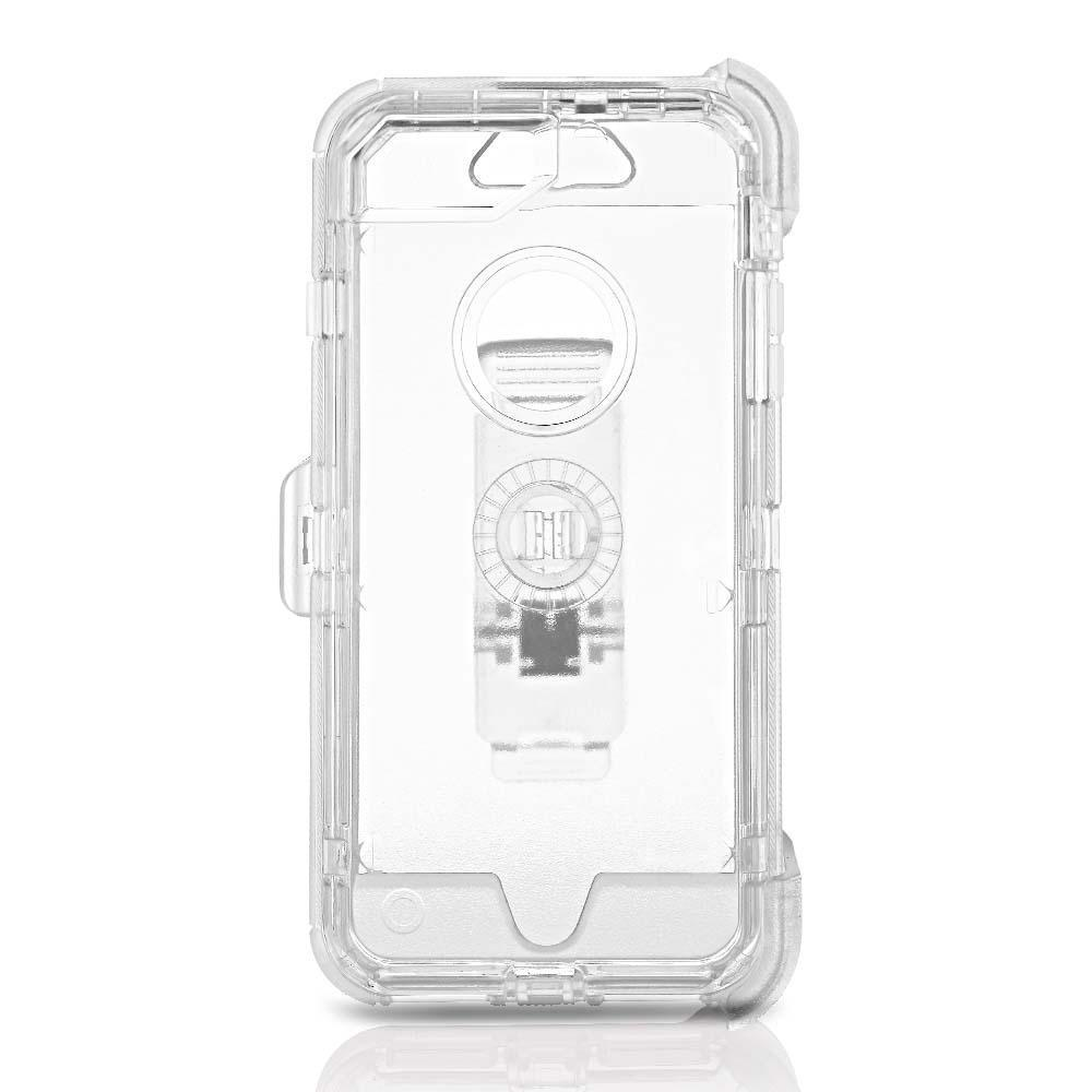 Transparent  DualPro Protector Case for  iPhone 6/7/8 - Clear