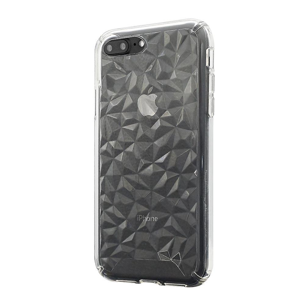 3D Crystal Case for iPhone 8/7/6 Plus - Clear