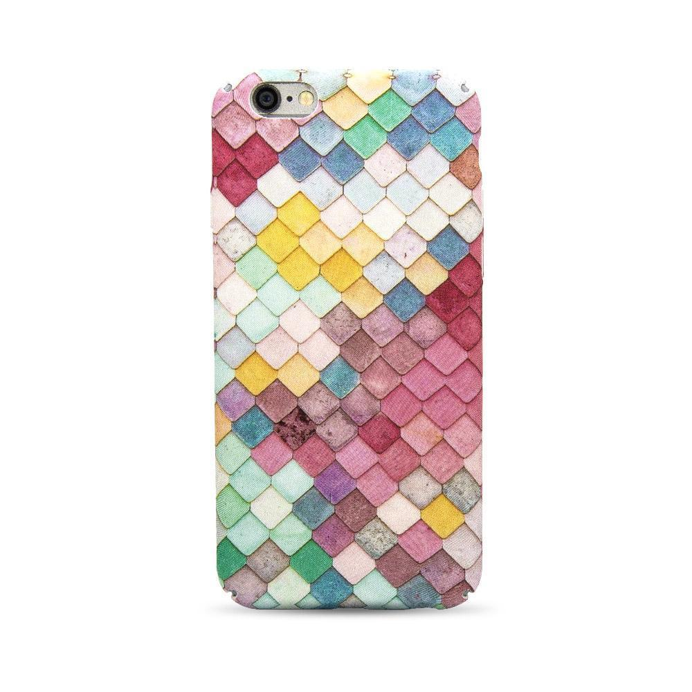 Mosaic Pattern Case for iPhone 7P /8 Plus - Colorful Stones