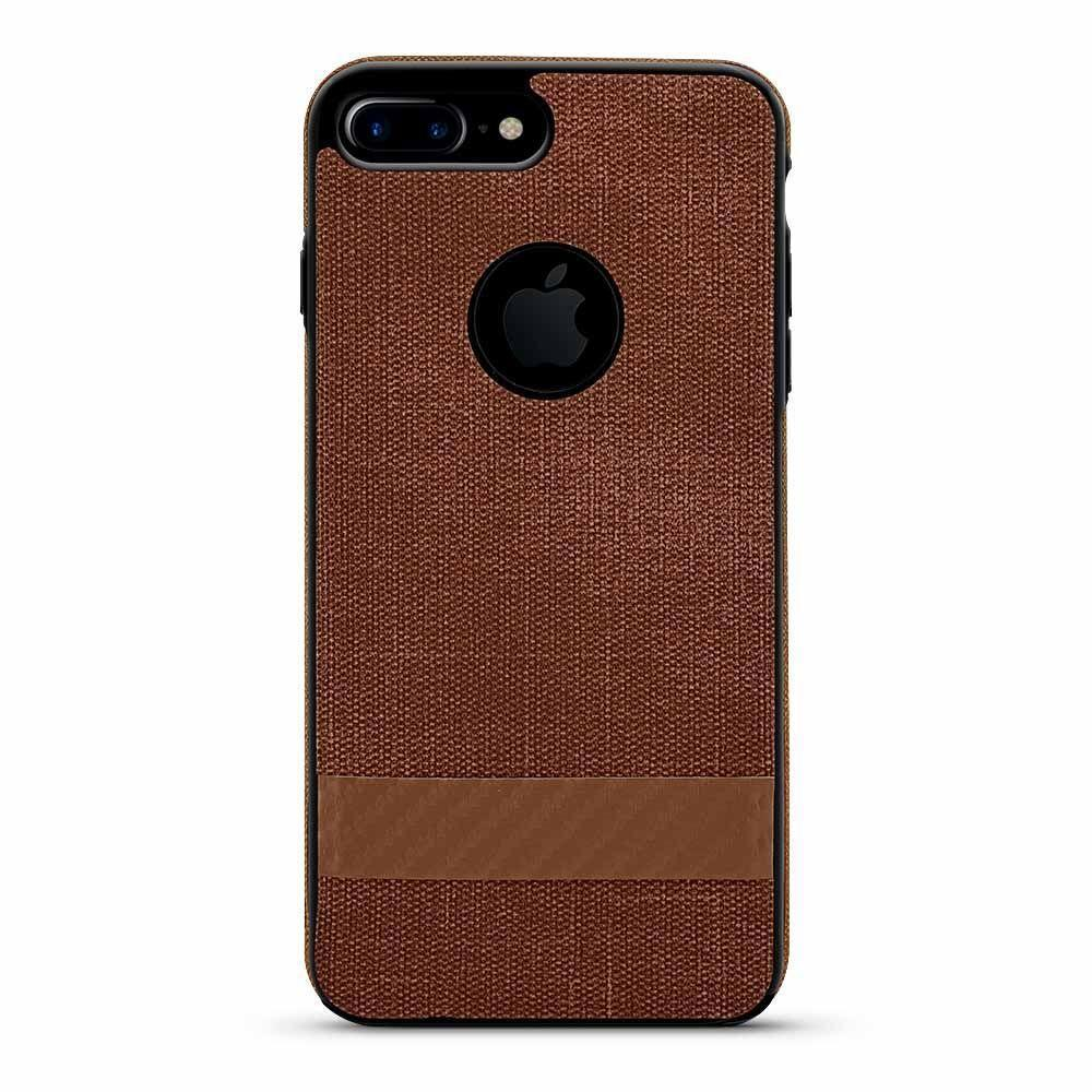 Twill Design Case for iPhone 6 - Brown