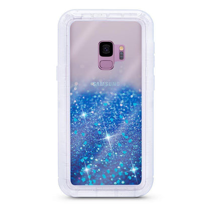 Liquid Protector Case for Samsung Galaxy S9P - Blue