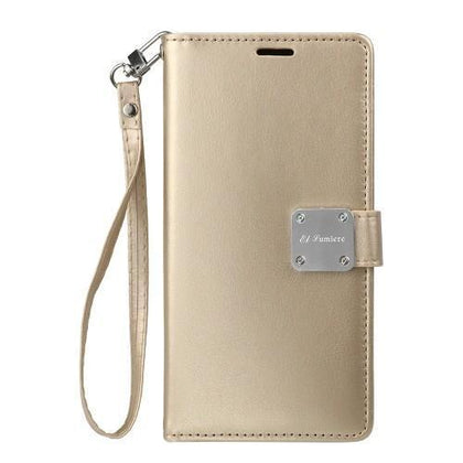 Prime Wallet Case for Samsung Galaxy Note 10 Plus - Gold