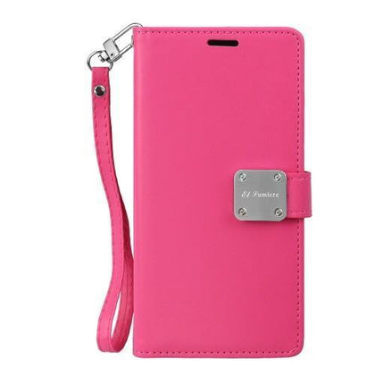 Prime Wallet Case for Samsung Galaxy Note 10 Plus - Hot Pink