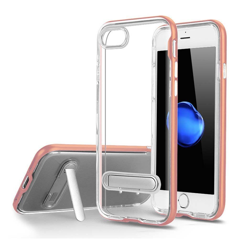 Color Edge Standing Case For iPhone 7 /8 - Rose Gold