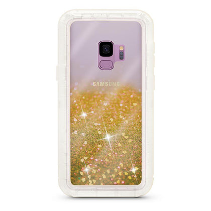 Liquid Protector Case for Samsung Galaxy S9P - Gold