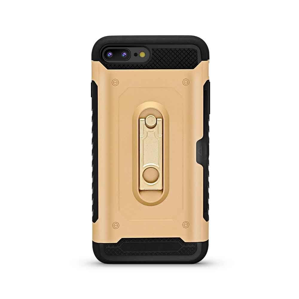 Titan Card and Stand Case for iPhone 7/8 Plus - Gold