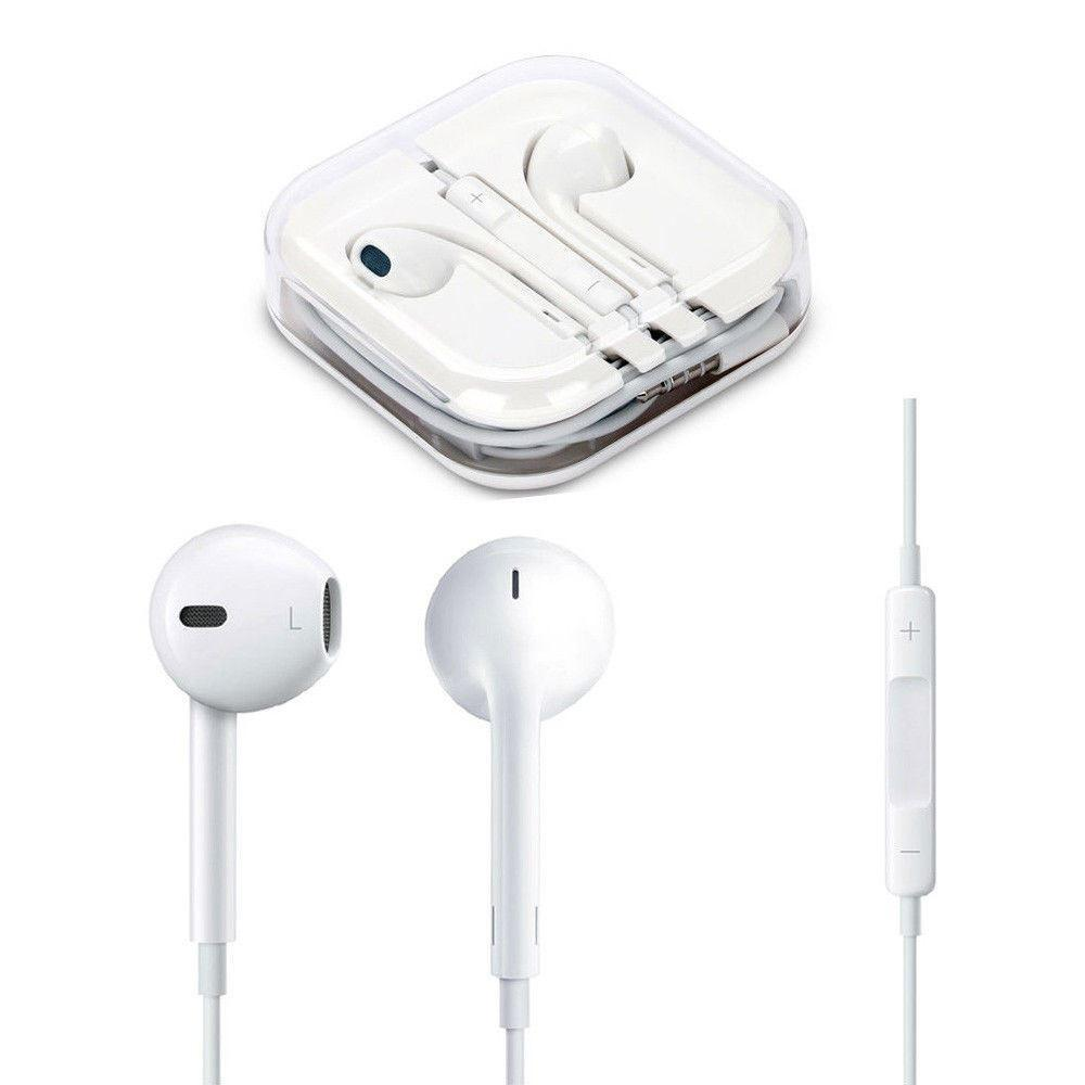 Headset with Microphone iOS - White