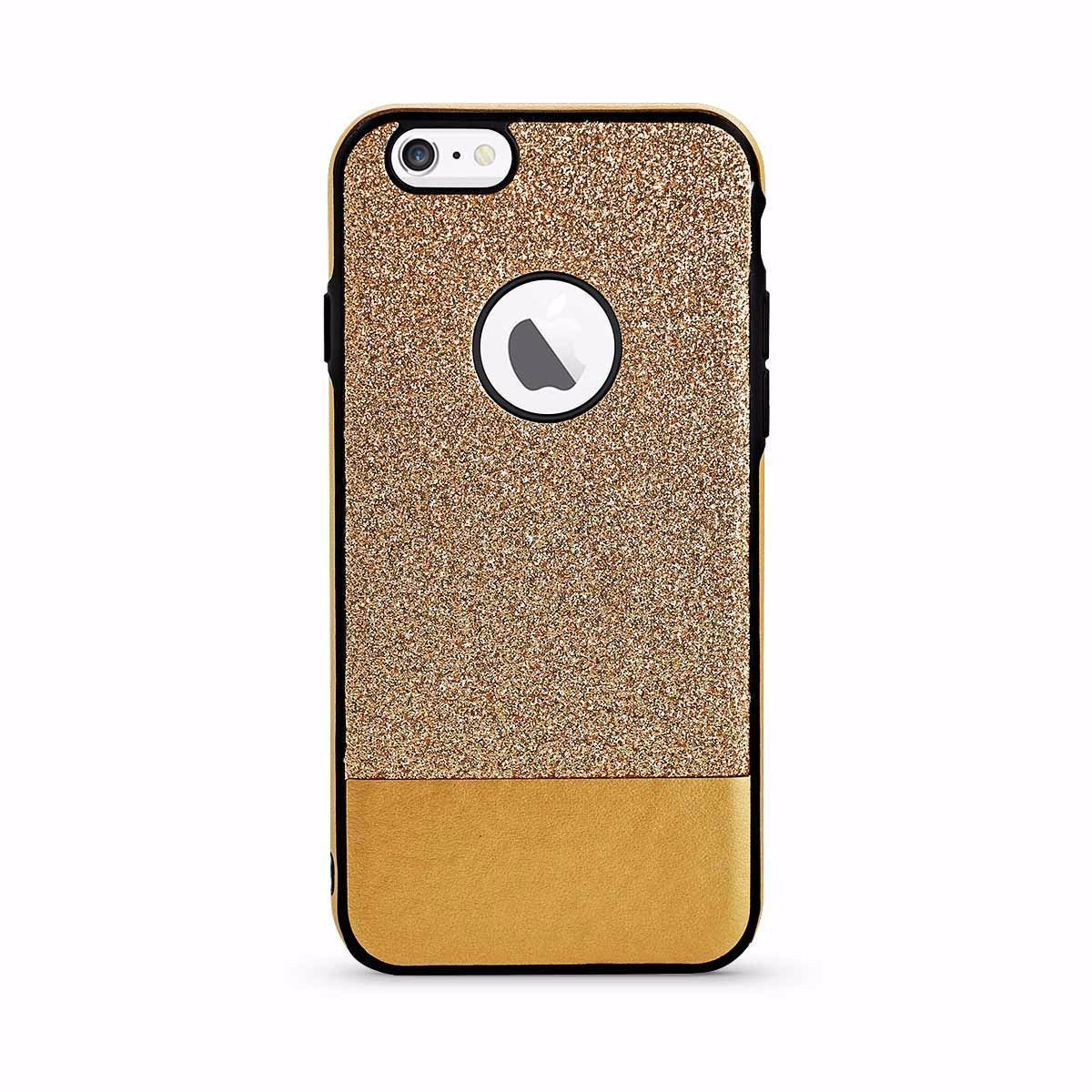 Jazzy Case for iPhone 7 /8 - Gold
