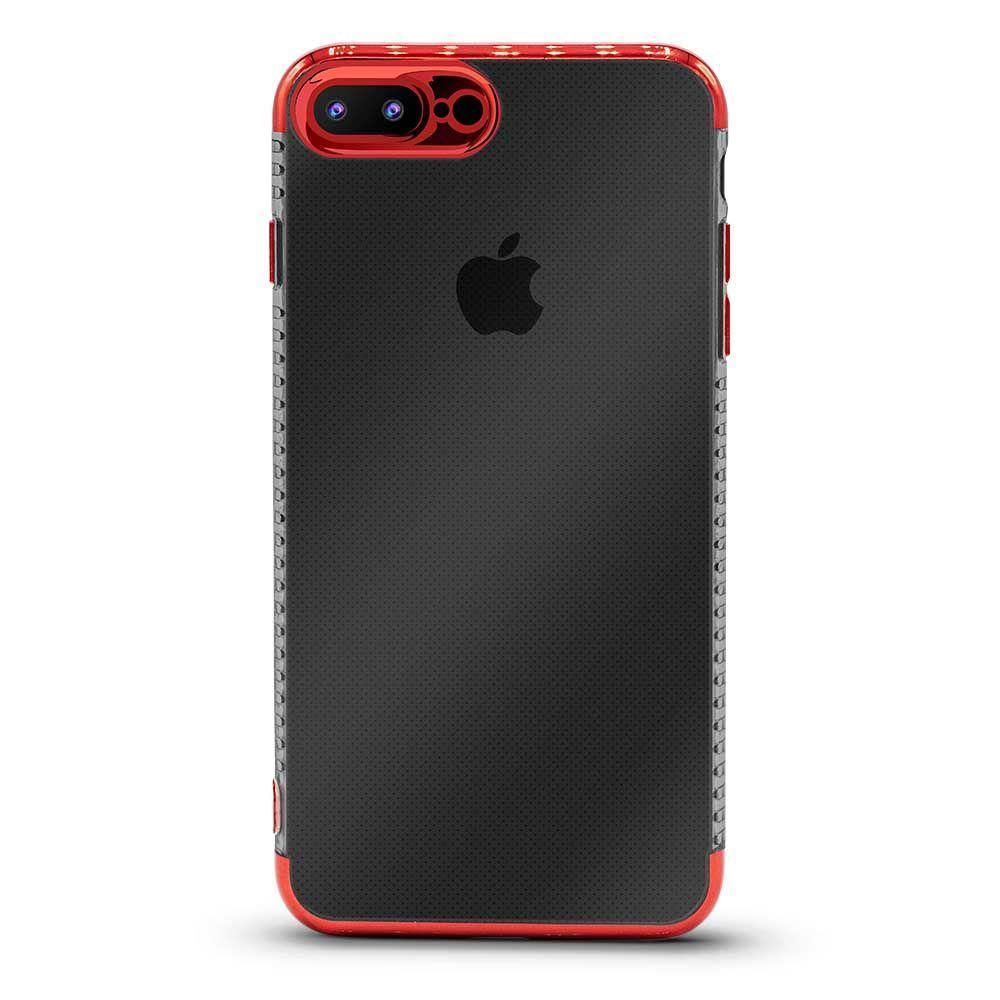 Glossy Edge Case For iPhone 7 Plus, 8 Plus - Red