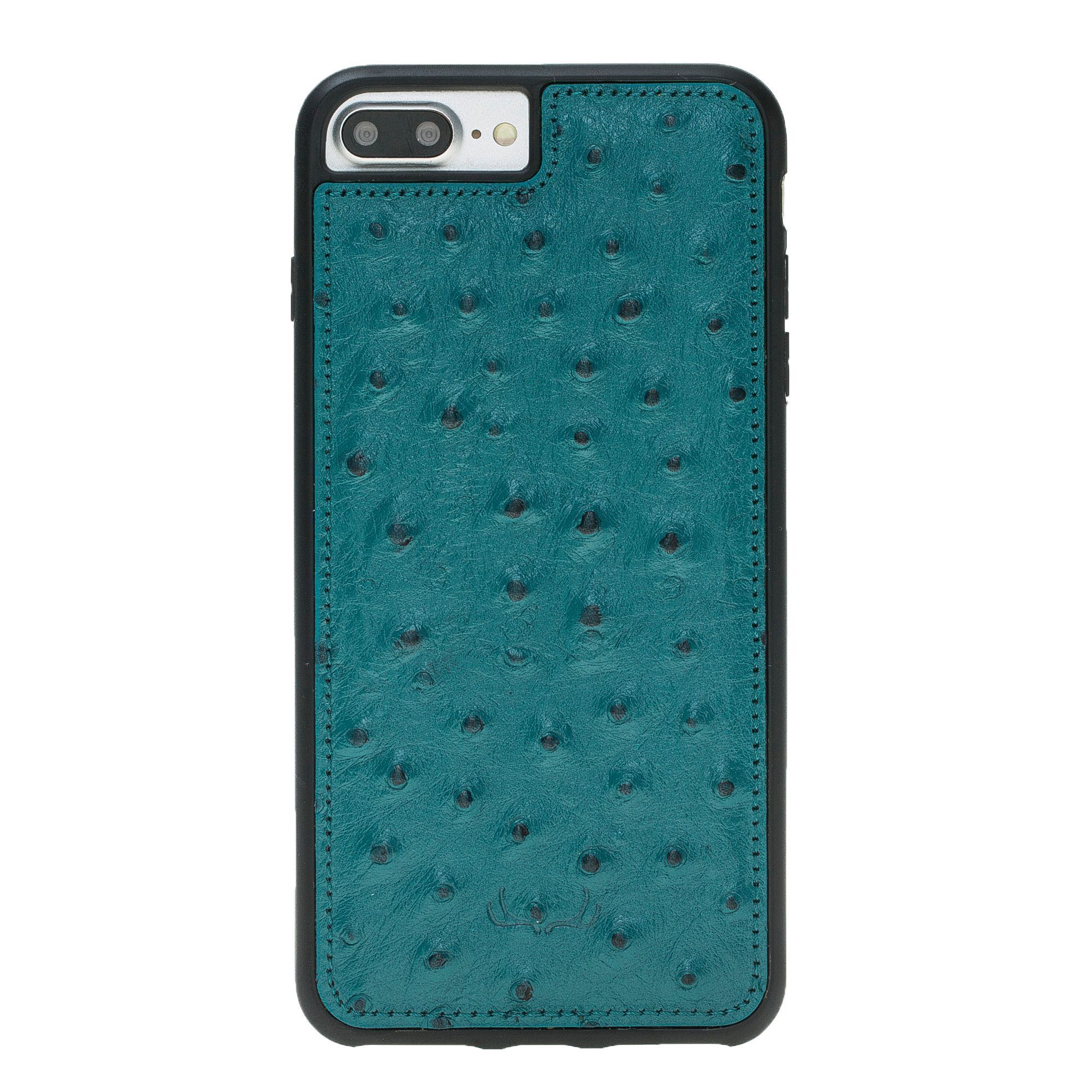 BNT Flex Cover Leather Cases - Ostrich - iPhone 7 Plus/ 8 Plus - Torguise