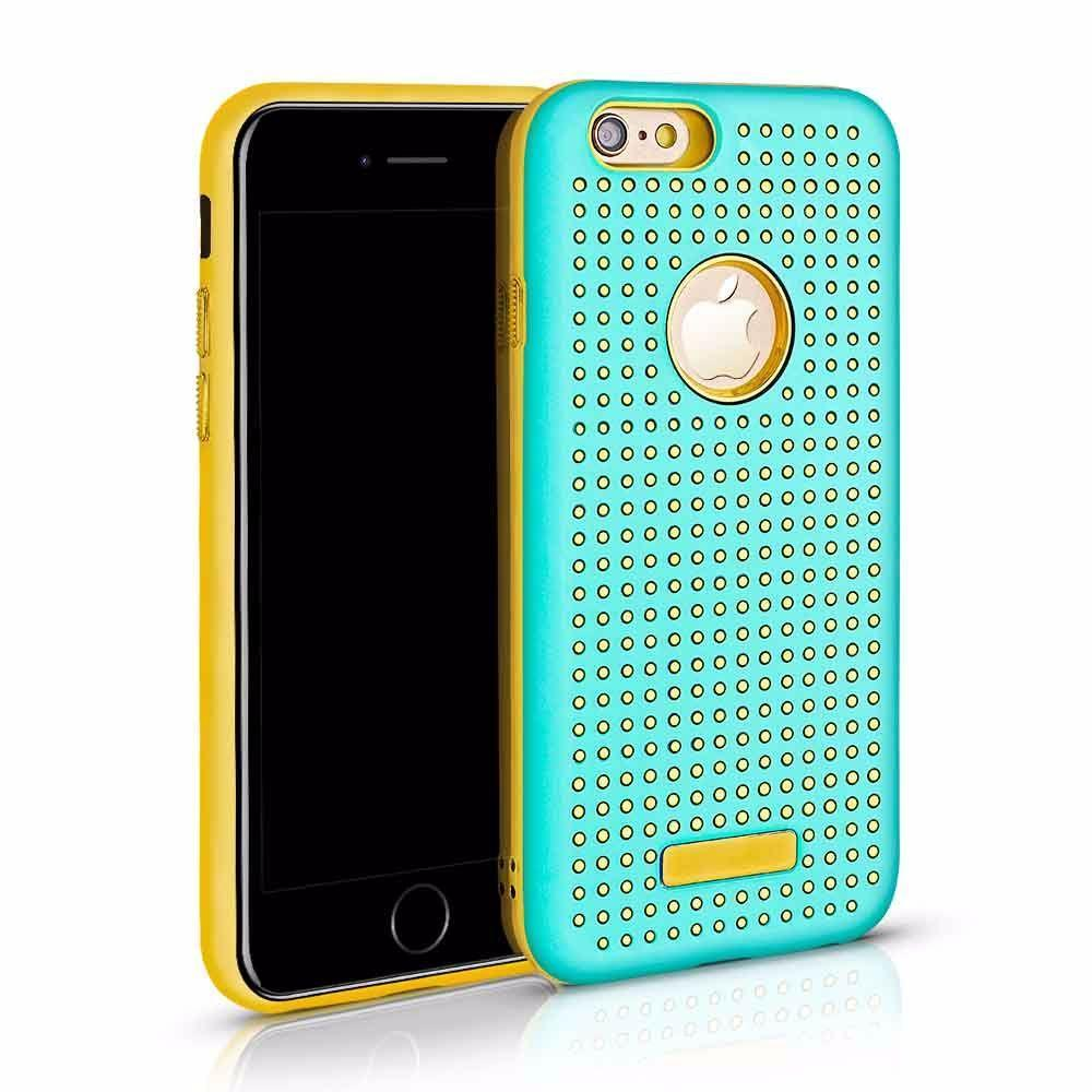 Golden Dot Case for iPhone 7 /8 - Teal
