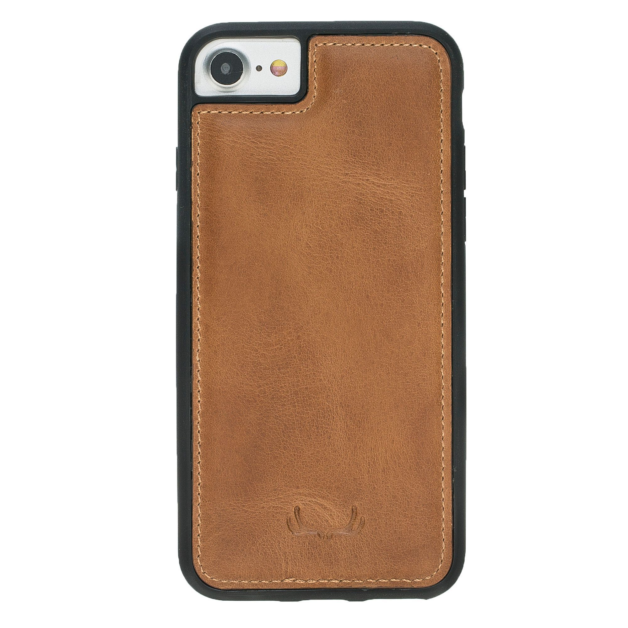BNT Flex Cover Leather Cases - Crazy - iPhone 7/8 - Brown