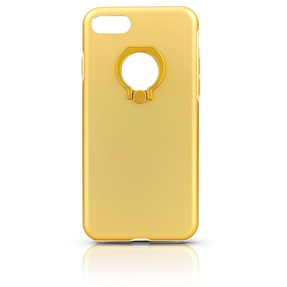 Metal Ring Case for iPhone 7 /8 - Gold