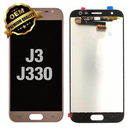 LCD Assembly for Samsung Galaxy J3 (J330 / 2017) - Gold