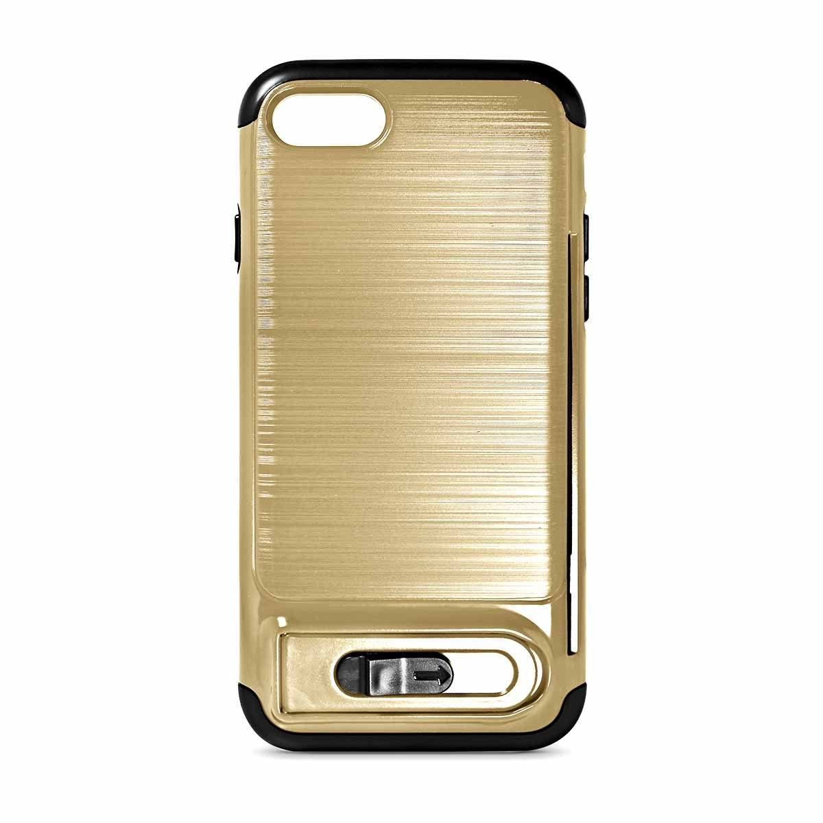 My Card Sliding Case for iPhone 6P - Gold