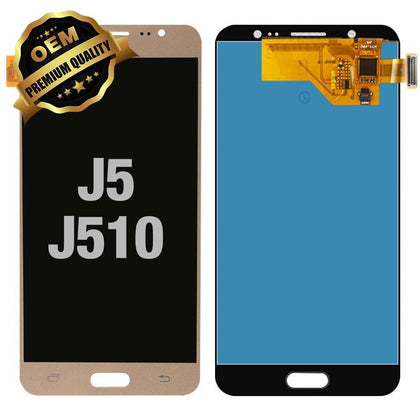 LCD Assembly for Samsung Galaxy J5 (J510 / 2016) - Gold