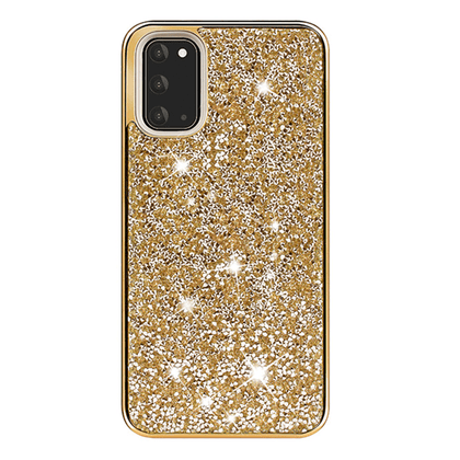 Color Diamond Hard Shell Case for Note 20 - Gold