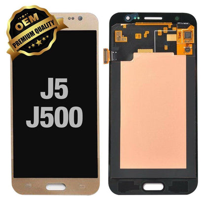 LCD Assembly for Samsung Galaxy J5 (J500 / 2015) (Premium) - Gold