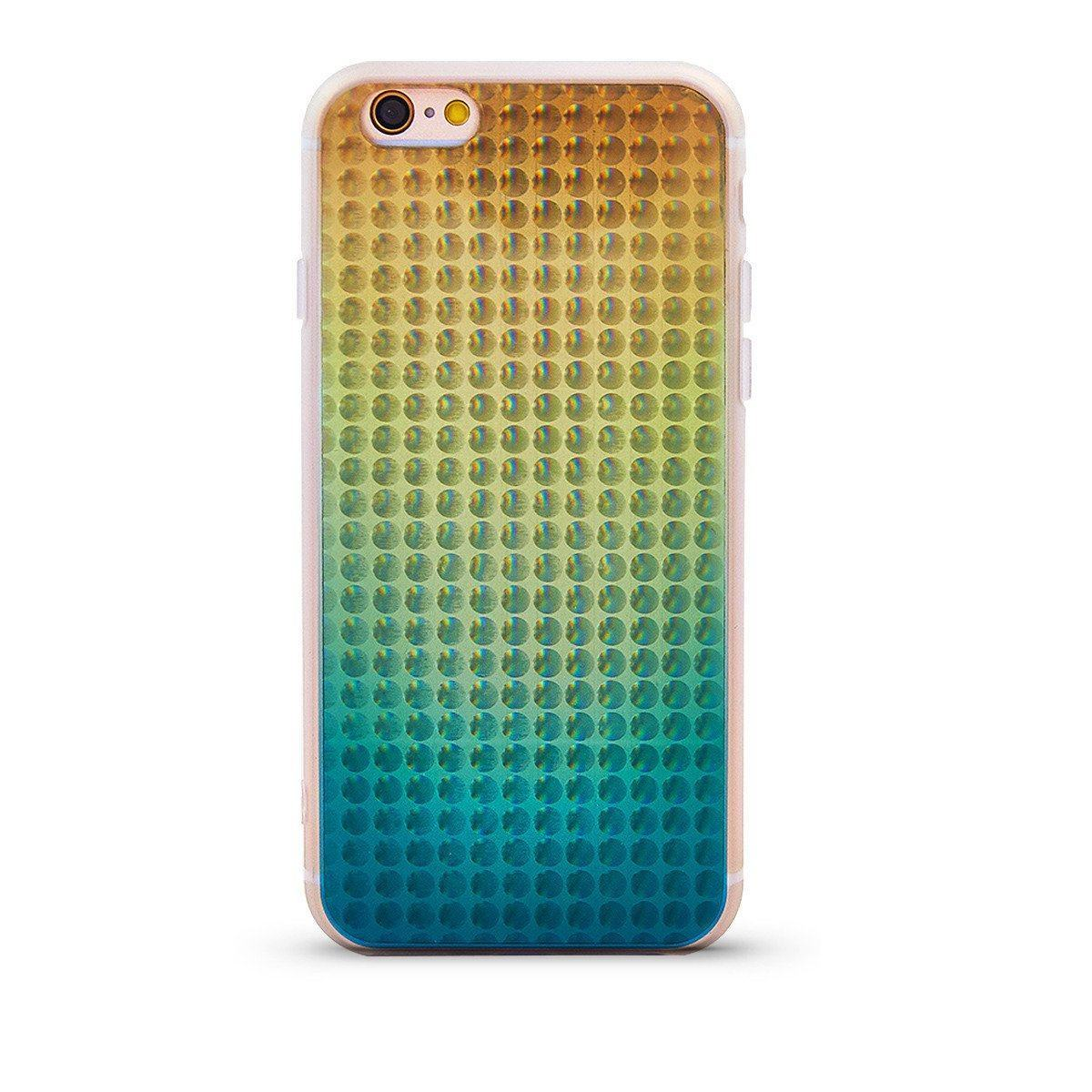 Bubble Case for iPhone 6 - Green & Orange