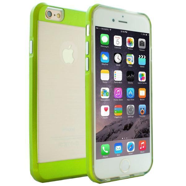 DualPro Bumper Case for iPhone 6 Plus - Green