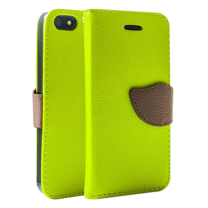 Wing Wallet Case for iPhone 5C - Green