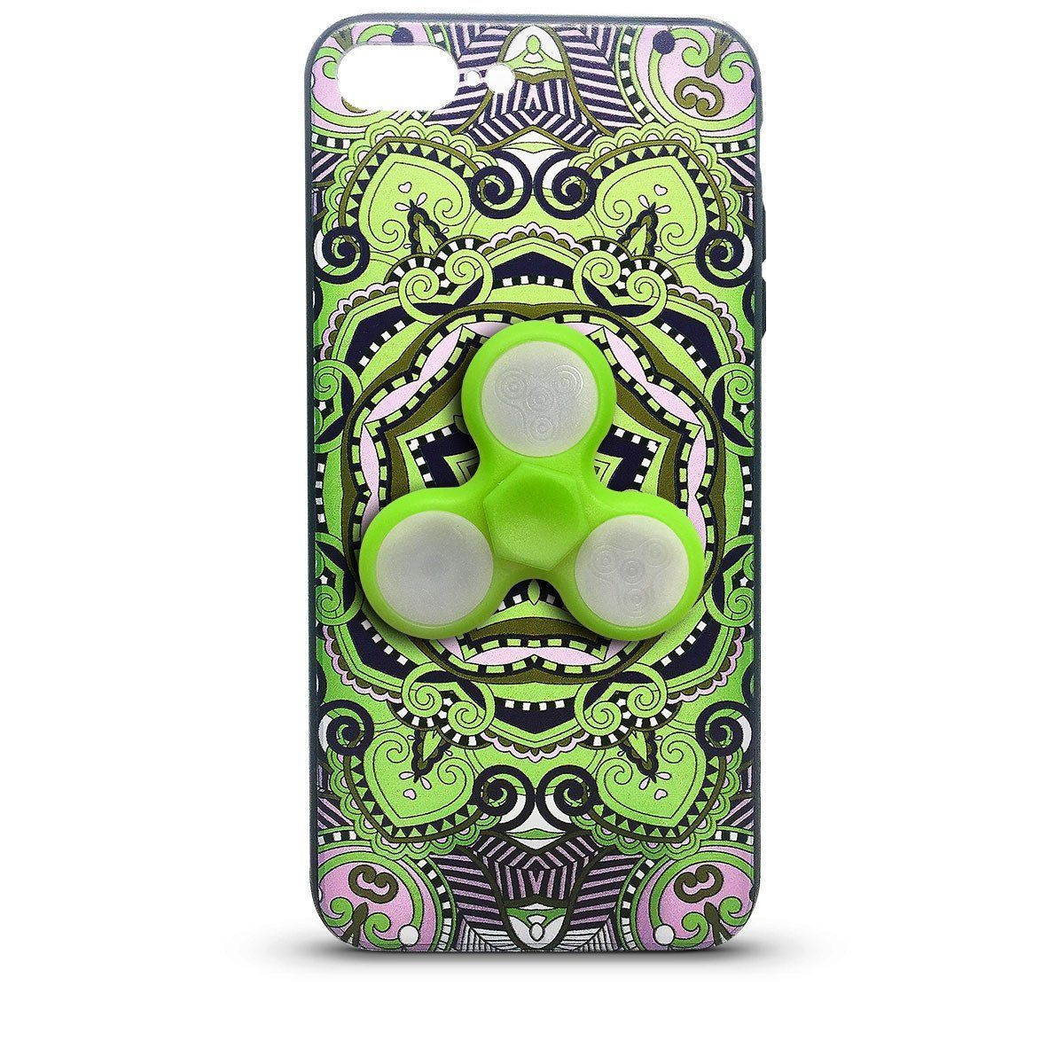Fidget Case for iPhone 6P - Green