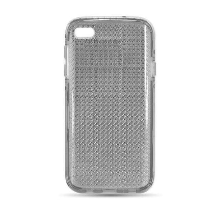 Shiny Elastic Dot Case for iPhone 5 - Black