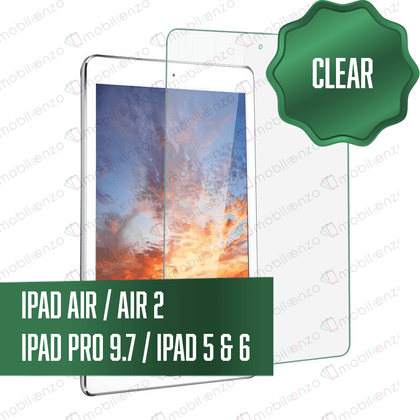 iPad Air / Air 2 / iPad Pro 9.7 / iPad 5 & 6 Tempered Glass