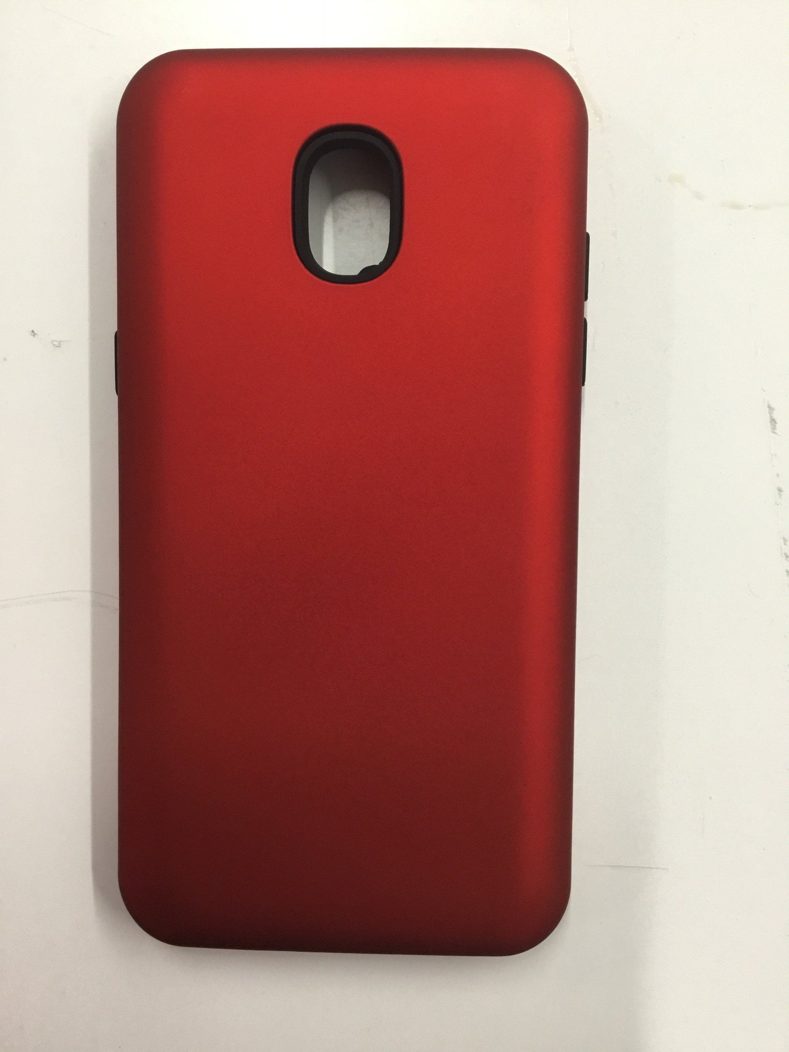 Hybrid Combo Layer Protective Case for Samsung J3 2018 - Red