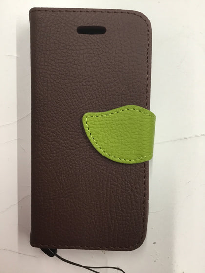 Wing Wallet Case for iPhone 5C - Brown