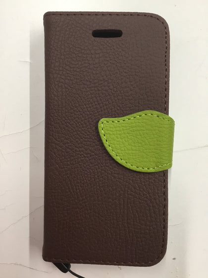 Wing Wallet Case for iPhone 5 - Brown
