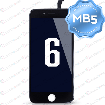 LCD Digitizer for iPhone 6 - Black (MB5 Quality)