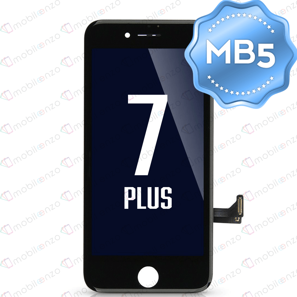 LCD Digitizer for iPhone 7 Plus - Black (MB5 Quality)