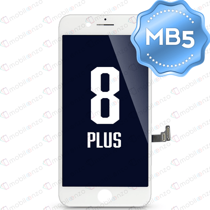 LCD Digitizer for iPhone 8 Plus - White (MB5 Quality)