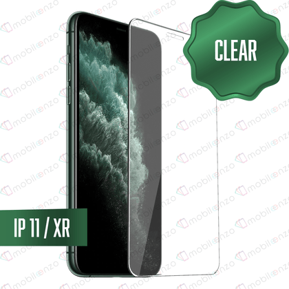 Clear Tempered Glass for iPhone 11/XR (10 Pcs)