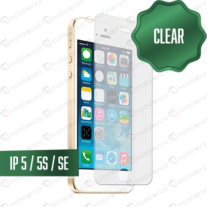 Clear Tempered Glass for iPhone 5/5S/5SE