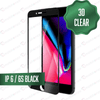3D Tempered Glass for iPhone 6/6S - Black