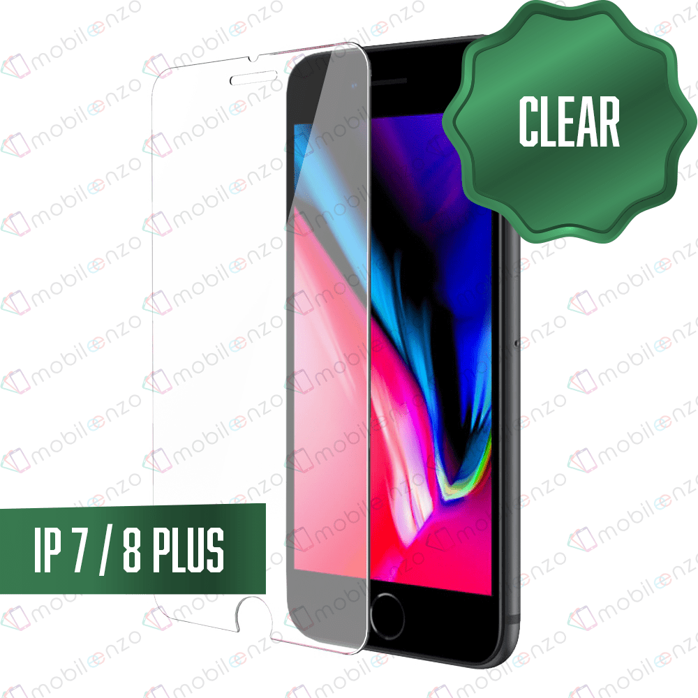 Clear Tempered Glass for iPhone 7/8 Plus