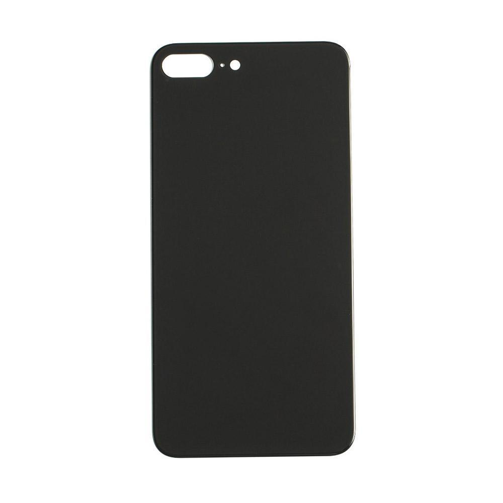 Back Glass For iPhone 8 Plus - Black