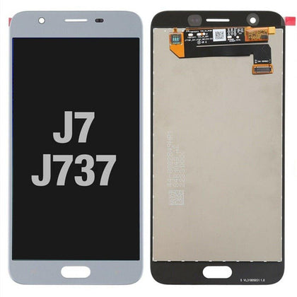 LCD Assembly for GALAXY J7 (J737 / 2018) (Premium) - White
