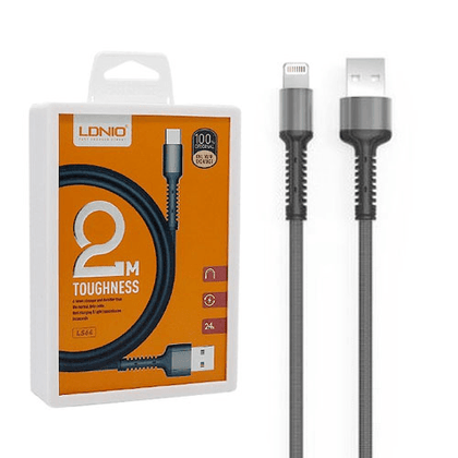LDNIO 2m USB Cable 2.4 A (LS64) - IOS