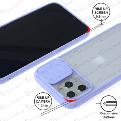 Camera Protector Case for iPhone 12 / 12 Pro (6.1) - Light Purple