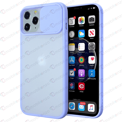 Camera Protector Case for iPhone 12 Pro Max (6.7) - Light Purple