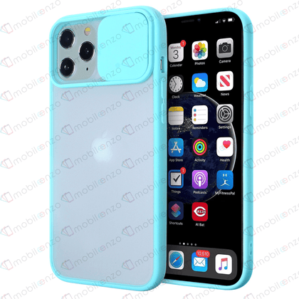 Camera Protector Case for iPhone 12 Pro Max (6.7) - Light Teal