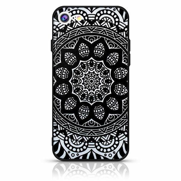Mandala Case For iPhone 6 - Black
