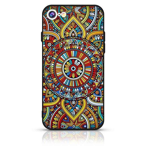 Mandala Case For iPhone 6 - Yellow