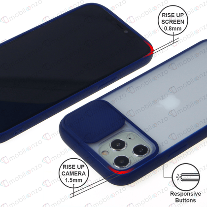 Camera Protector Case for iPhone 12 Pro Max (6.7) - Navy Blue