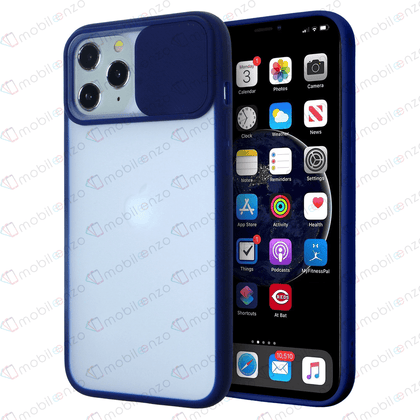 Camera Protector Case for iPhone 12 Mini (5.4) - Navy Blue